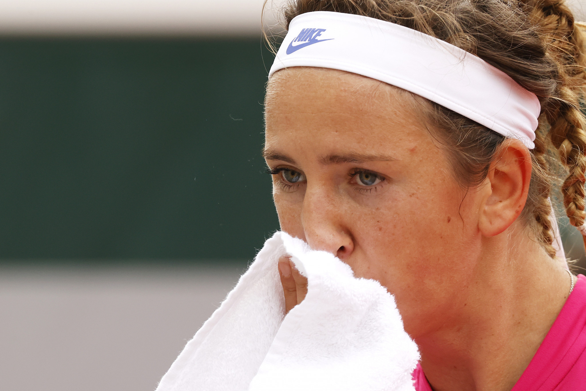 US Open runner-up Victoria Azarenka was the biggest casualty on the women's side of the draw on day four ©Getty Images