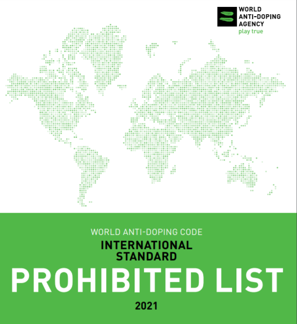 WADA publishes revised and redesigned Prohibited List for 2021