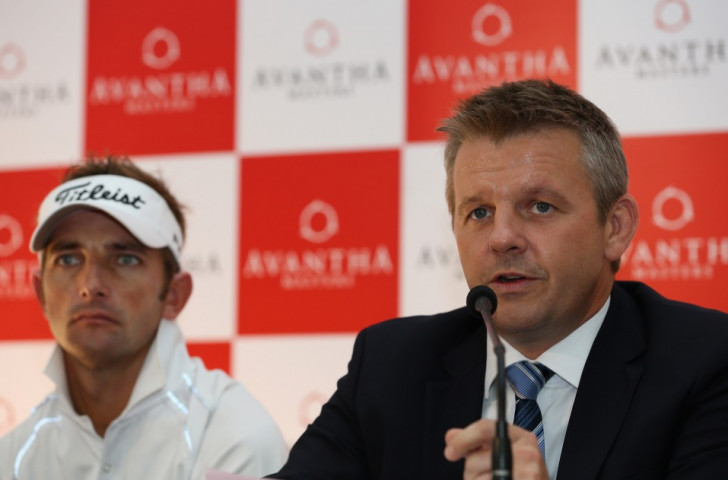 Mike Kerr (right) resigned as chief executive of the Asian Tour last month