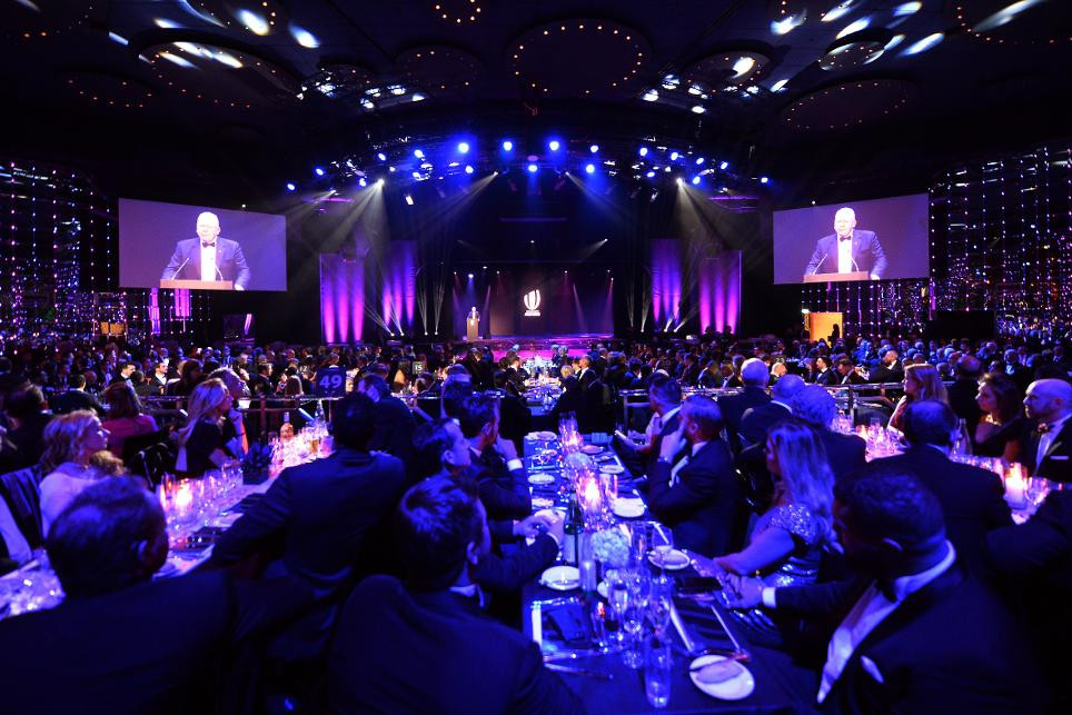 This year's World Rugby Awards will not feature the usual celebration of on-field achievements ©Twitter