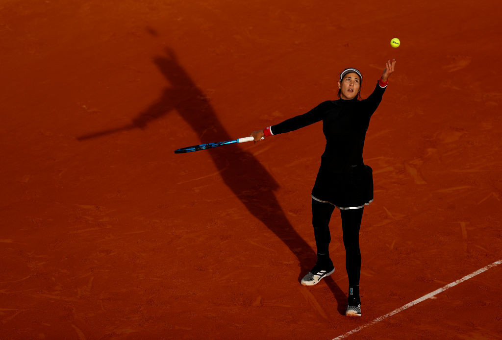 Garbiñe Muguruza, another former French Open champion, is also through to the third round ©Getty Images