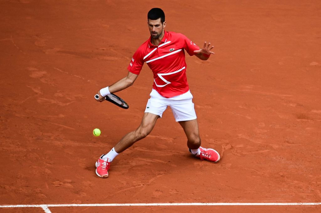The Serbian has dropped just 10 games in his opening two matches ©Getty Images
