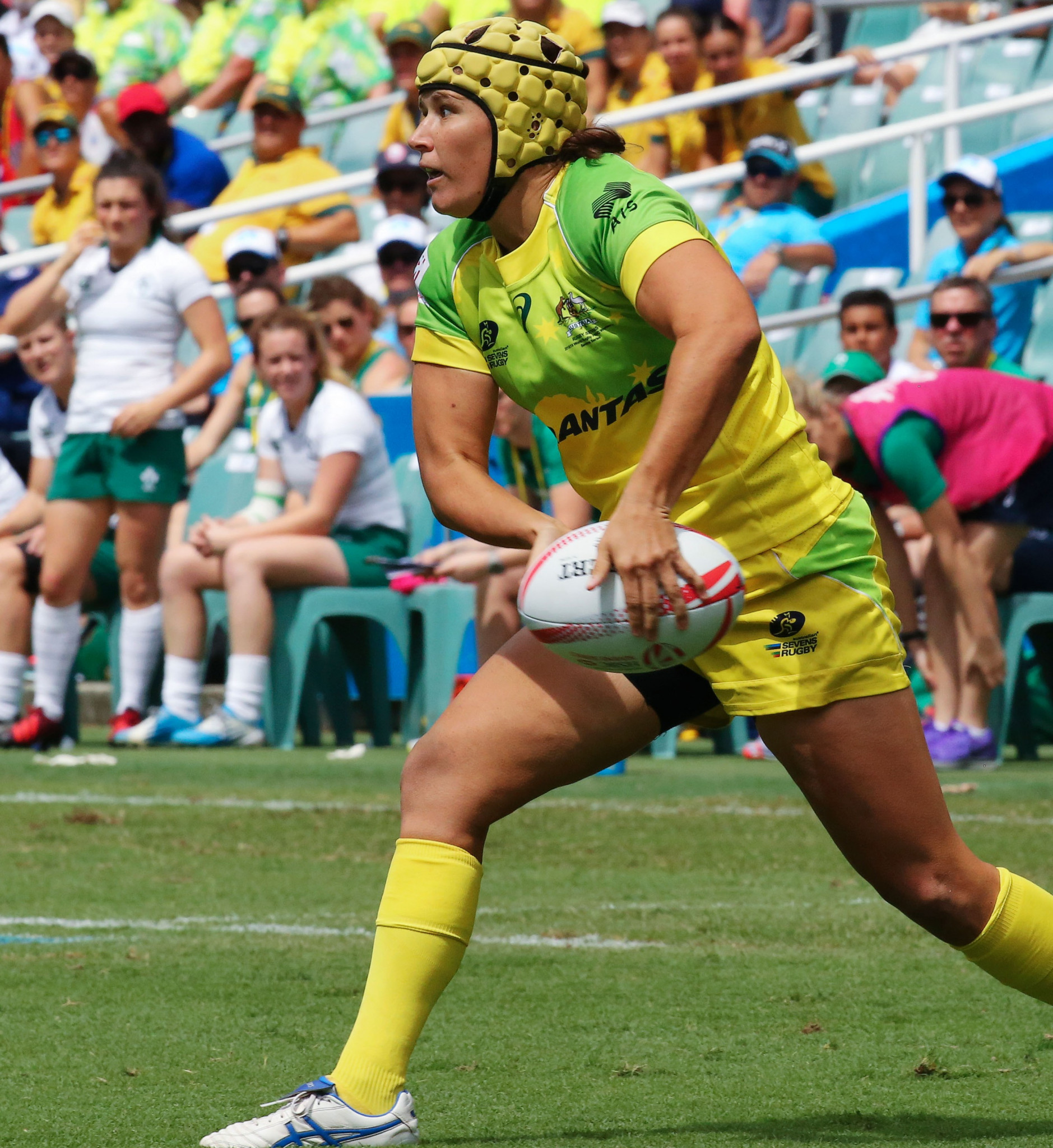 Shannon Parry helped lead the Australian women's sevens team to the Olympic gold medal at Rio 2016 ©Getty Images