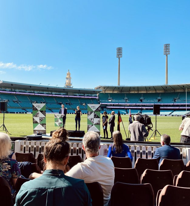 ACON's Pride in Sport initiative was launched at Sydney Cricket Ground ©Twitter