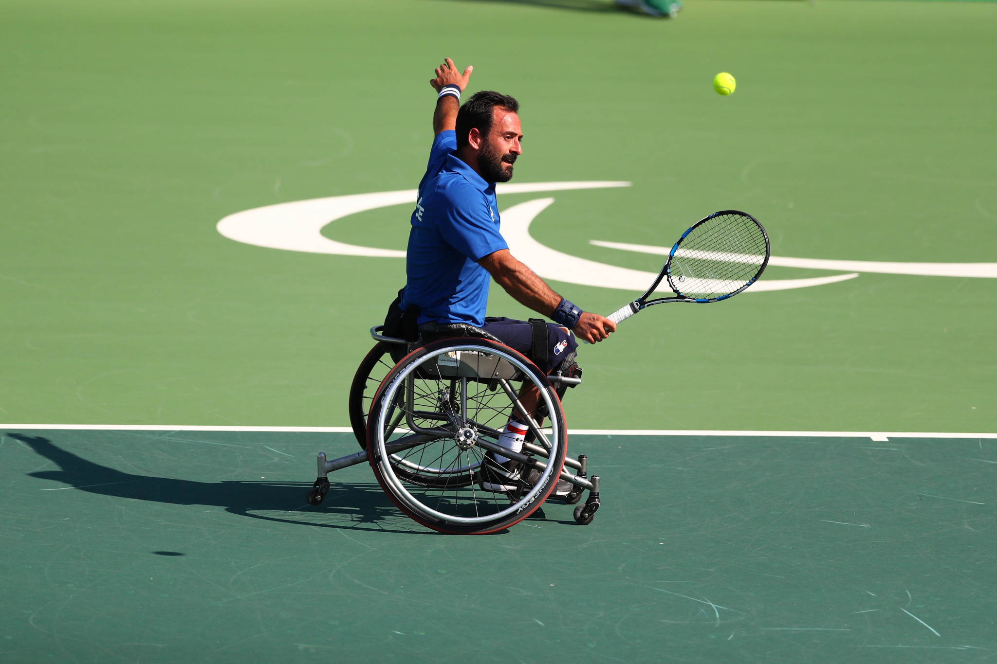 "Paralympic medallist Jérémiasz took on tournament director role to ""give back"" to wheelchair tennis"