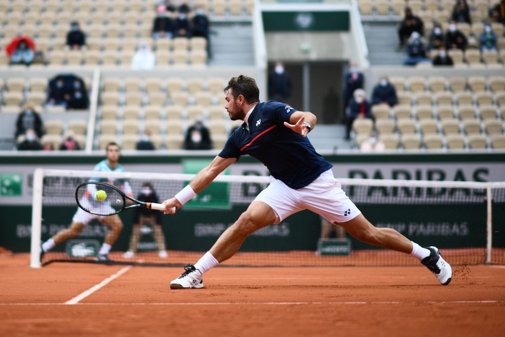 The world number 239 edged out the 2015 French Open champion in five sets ©Getty Images