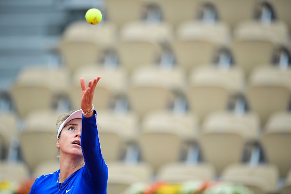 Third seed Elina Svitolina was made to work harder for her win over Russian opponent Ekaterina Alexandrova ©Getty Images