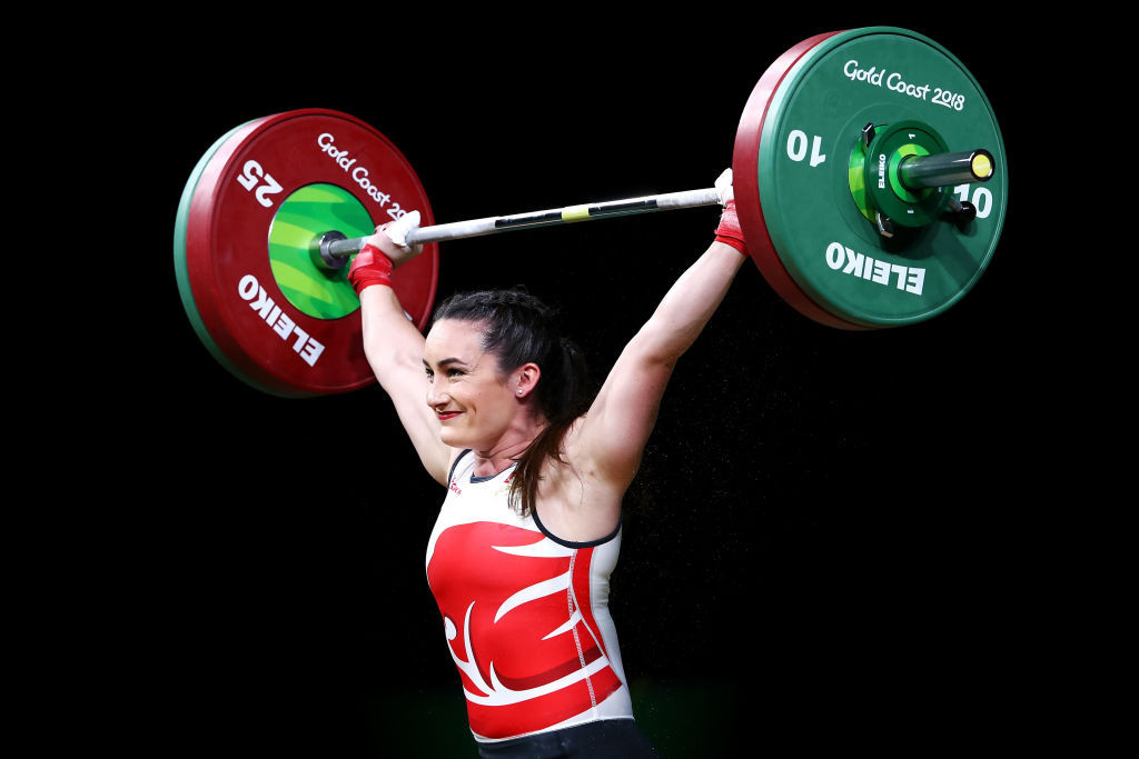 England's Sarah Davies chairs the recently-established IWF Athletes' Commission ©Getty Images