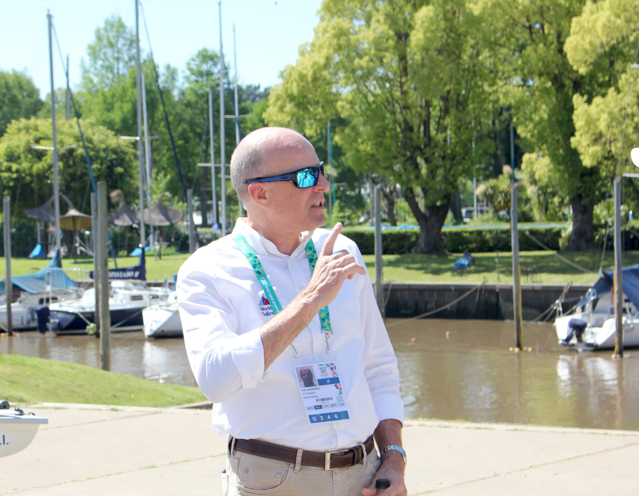 World Sailing President Kim Andersen claimed they have already started discussions with the International Paralympic Committee about restoring the sport to the Games in time for Los Angeles 2028 ©World Sailing