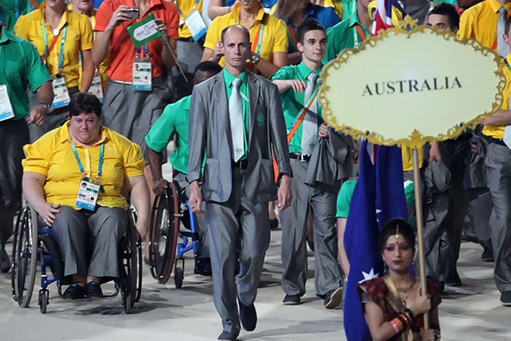 Australia's Chef de Mission Steve Moneghetti has admitted that preparing for Delhi 2010 presented some major challenges ©CGA