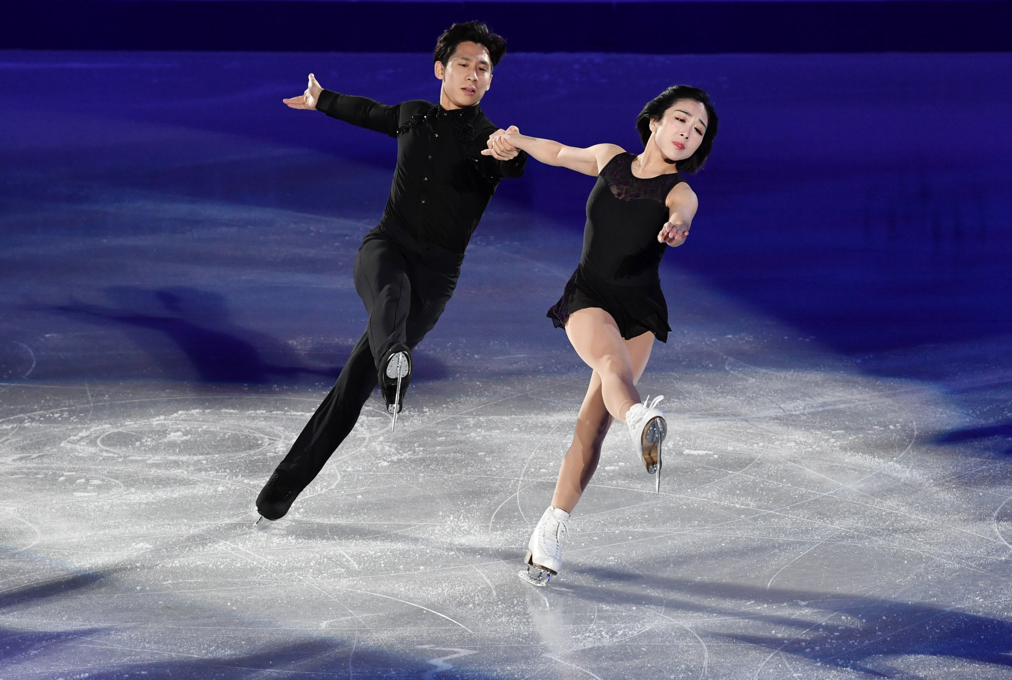 World champions Wenjing Sui and Cong Han are set to compete at the Shiseido Cup of China, which will only feature competitors from the home country ©Getty Images