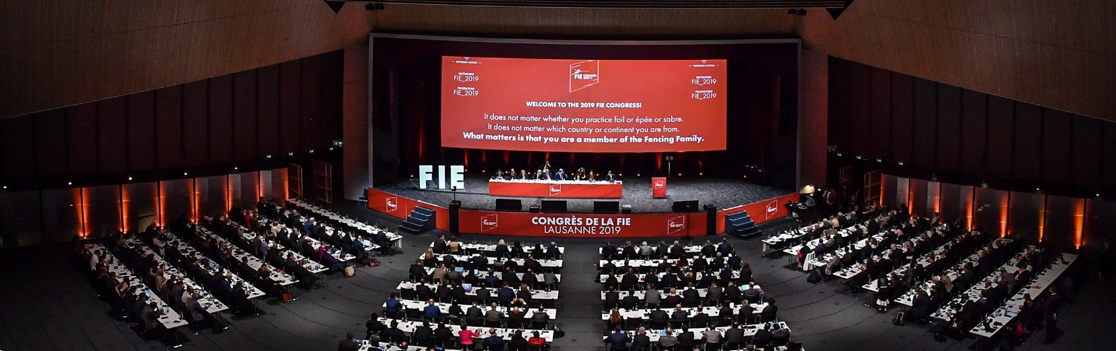 Under the Statues of the FIE, Elective Congresses are always held in Olympic years ©FIE
