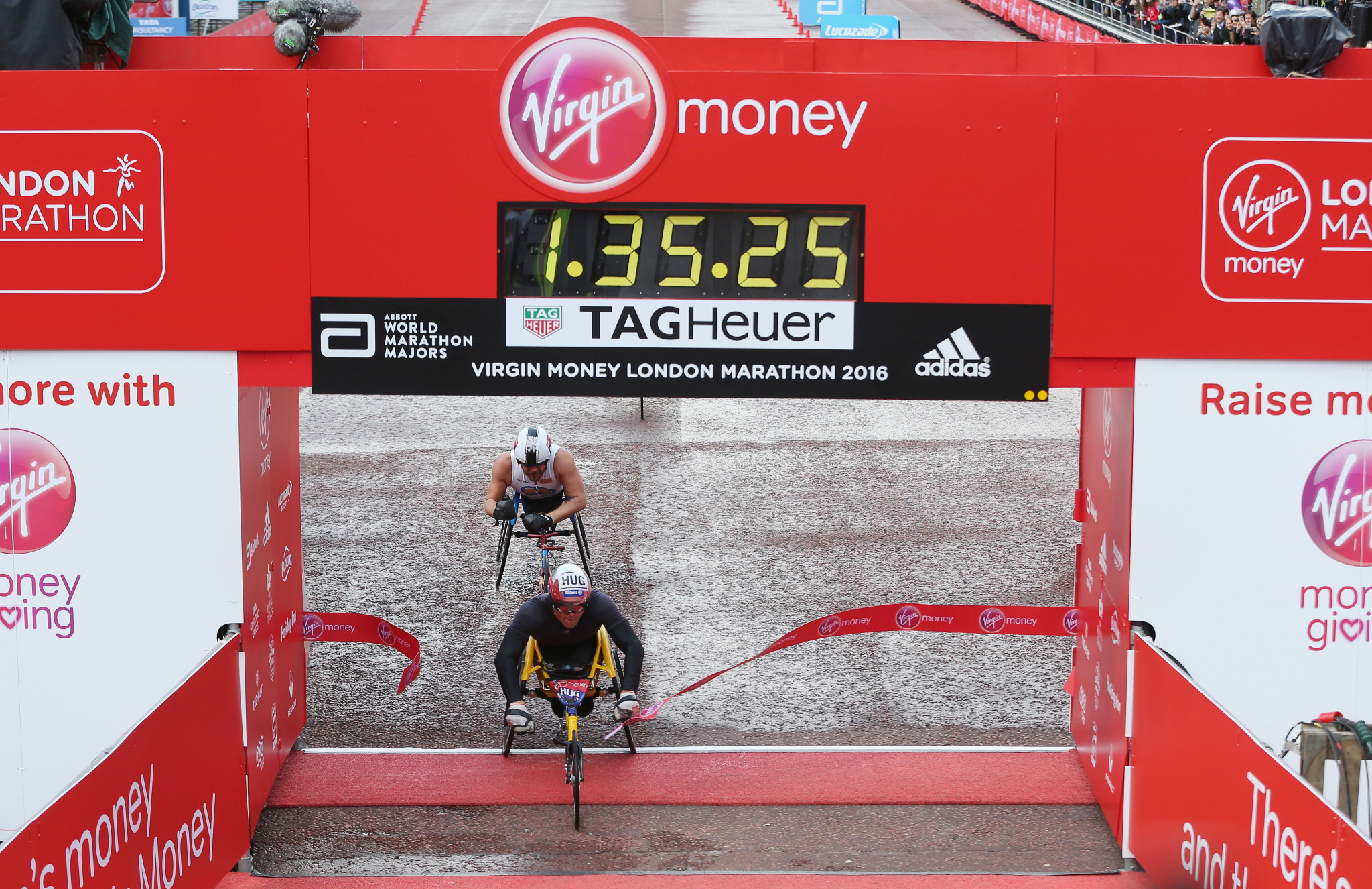 Swiss racers targeting wheelchair double at London Marathon
