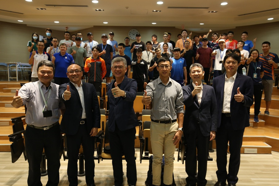 Chinese Taipei Olympic Committee holds sports agent forum for athletes
