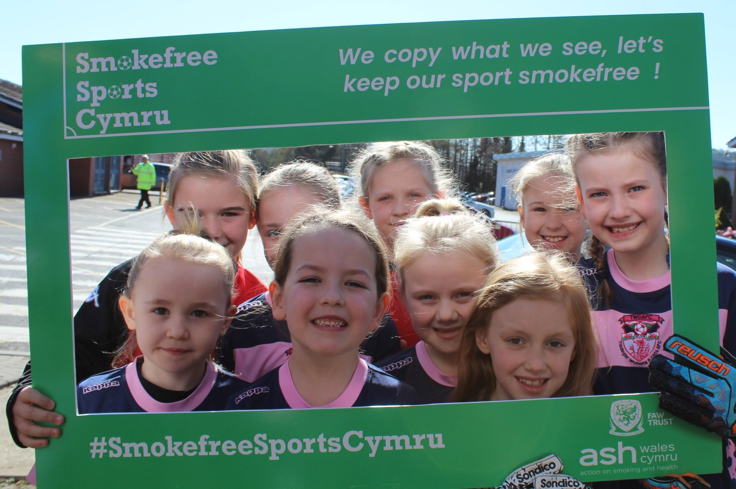 In a recent move to curb the influence of smoking in sport, the Football Association of Wales has banned touchline smoking at children's games ©FAW