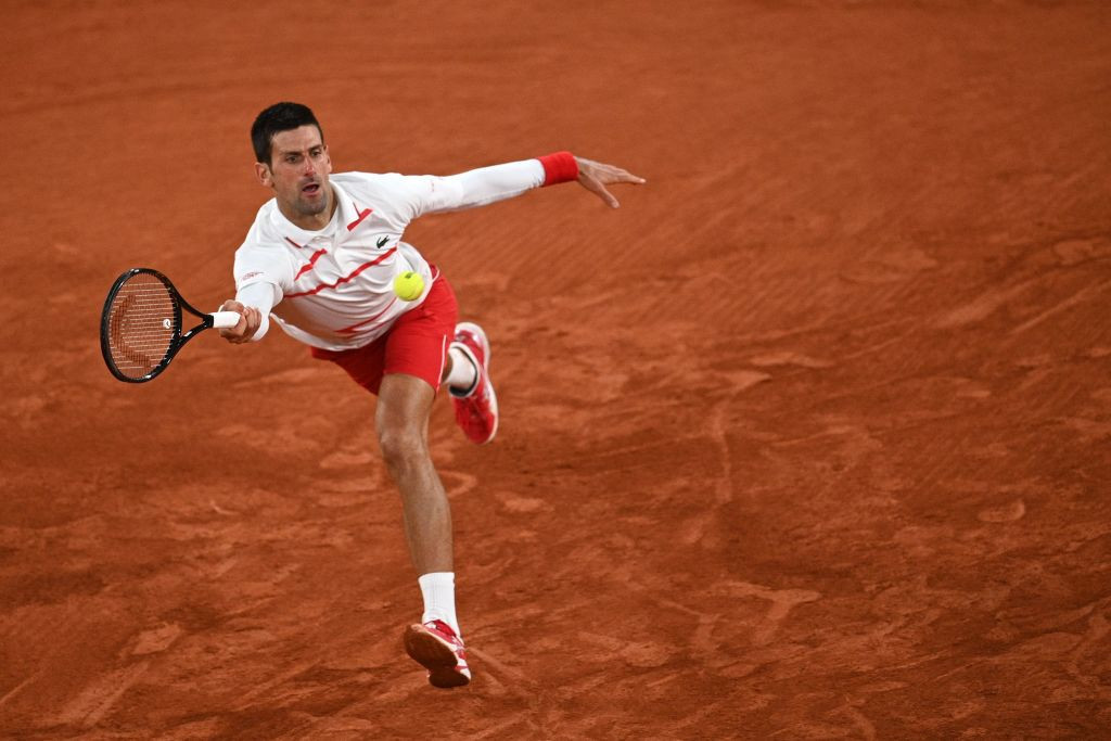 Djokovic dominates Colombian qualifier to book fourth-round place at French Open