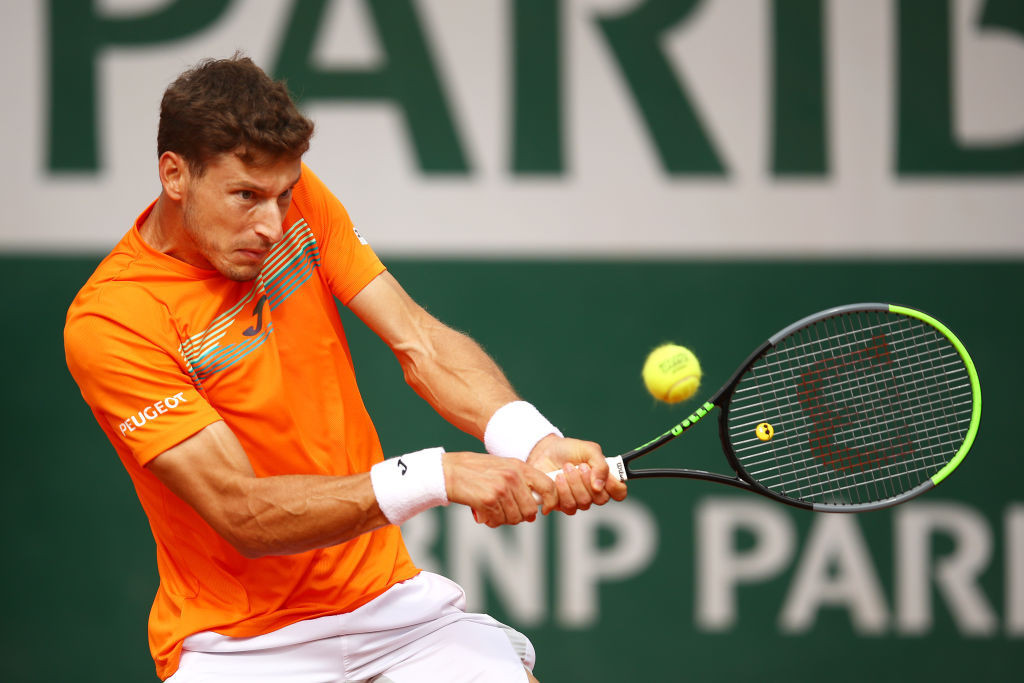 The world number 186 will play Pablo Carreño Busta of Spain in the next round ©Getty Images