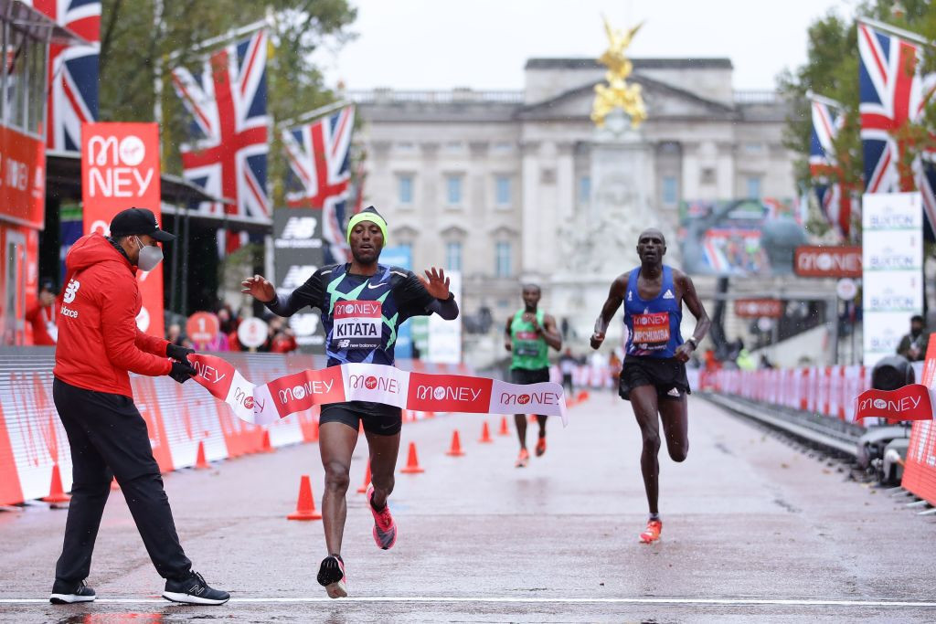 Shura Kitata was a surprise winner of the men's London Marathon ©Getty Images