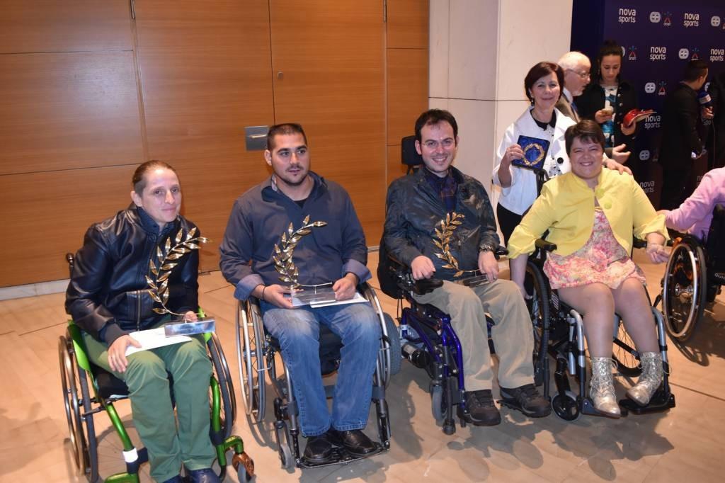 Greek Para-athletes recognised at Panhellenic Association of Sports Press awards