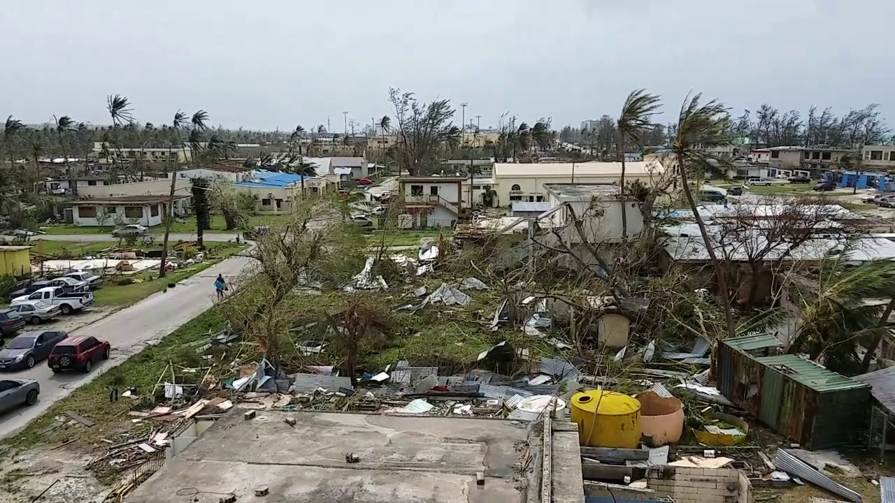 The Northern Mariana Islands is still recovering from Typhoon Yutu which hit in October 2018 ©YouTube