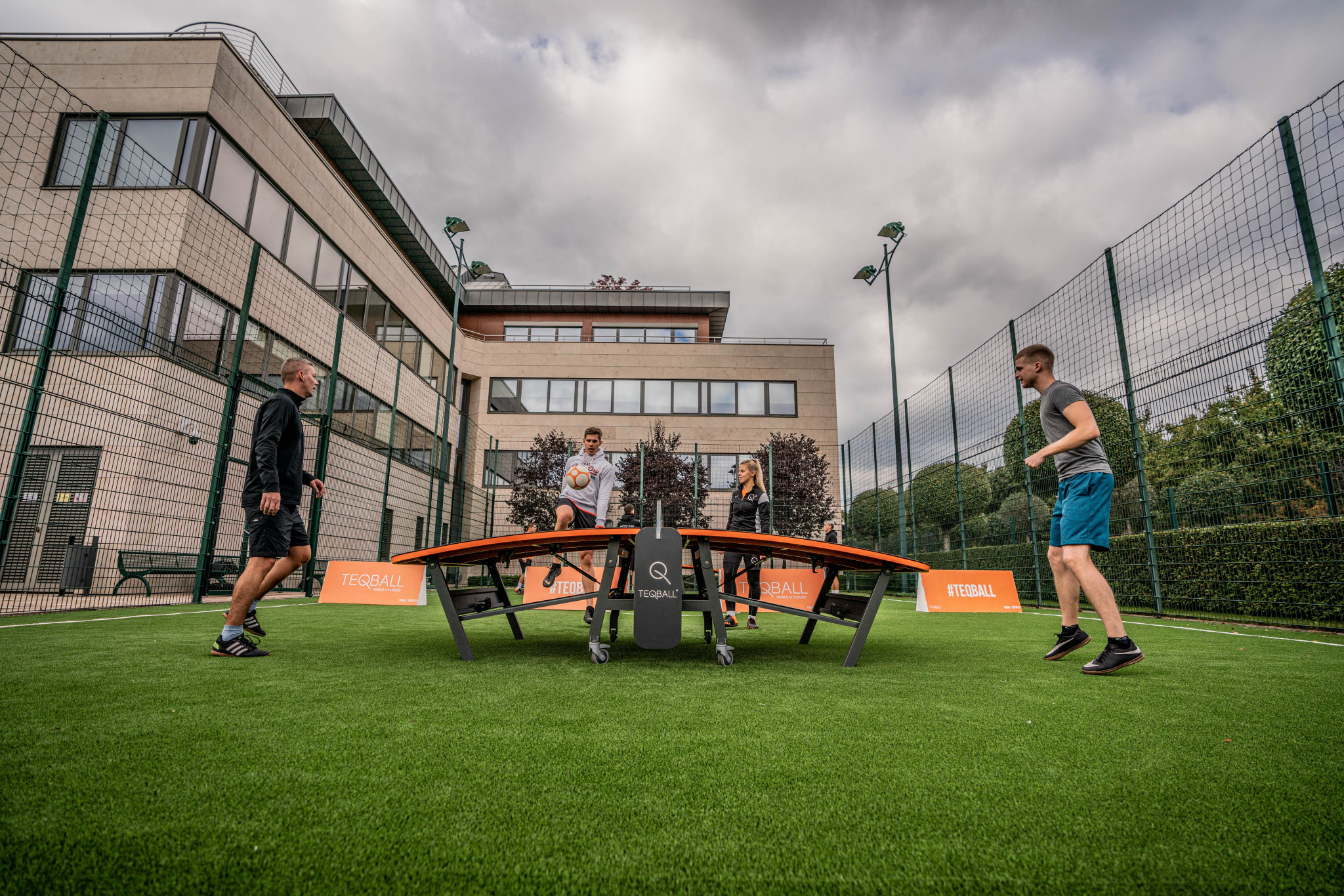 FITEQ hosted a teqball open day to celebrate European Week of Sport ©FITEQ