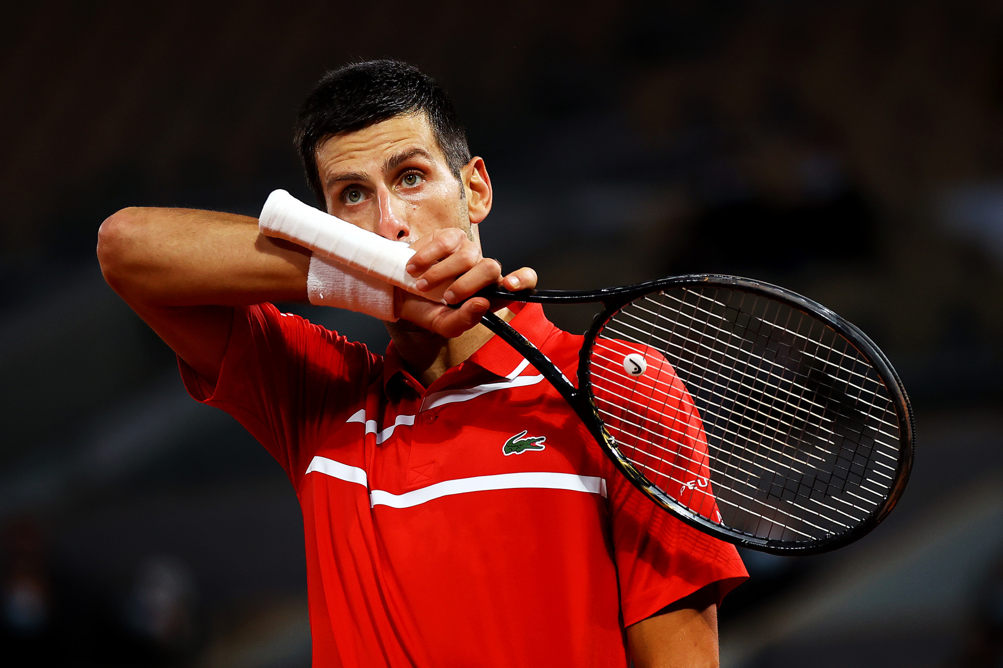 Djokovic accidentally strikes line judge with ball during fourth round French Open win