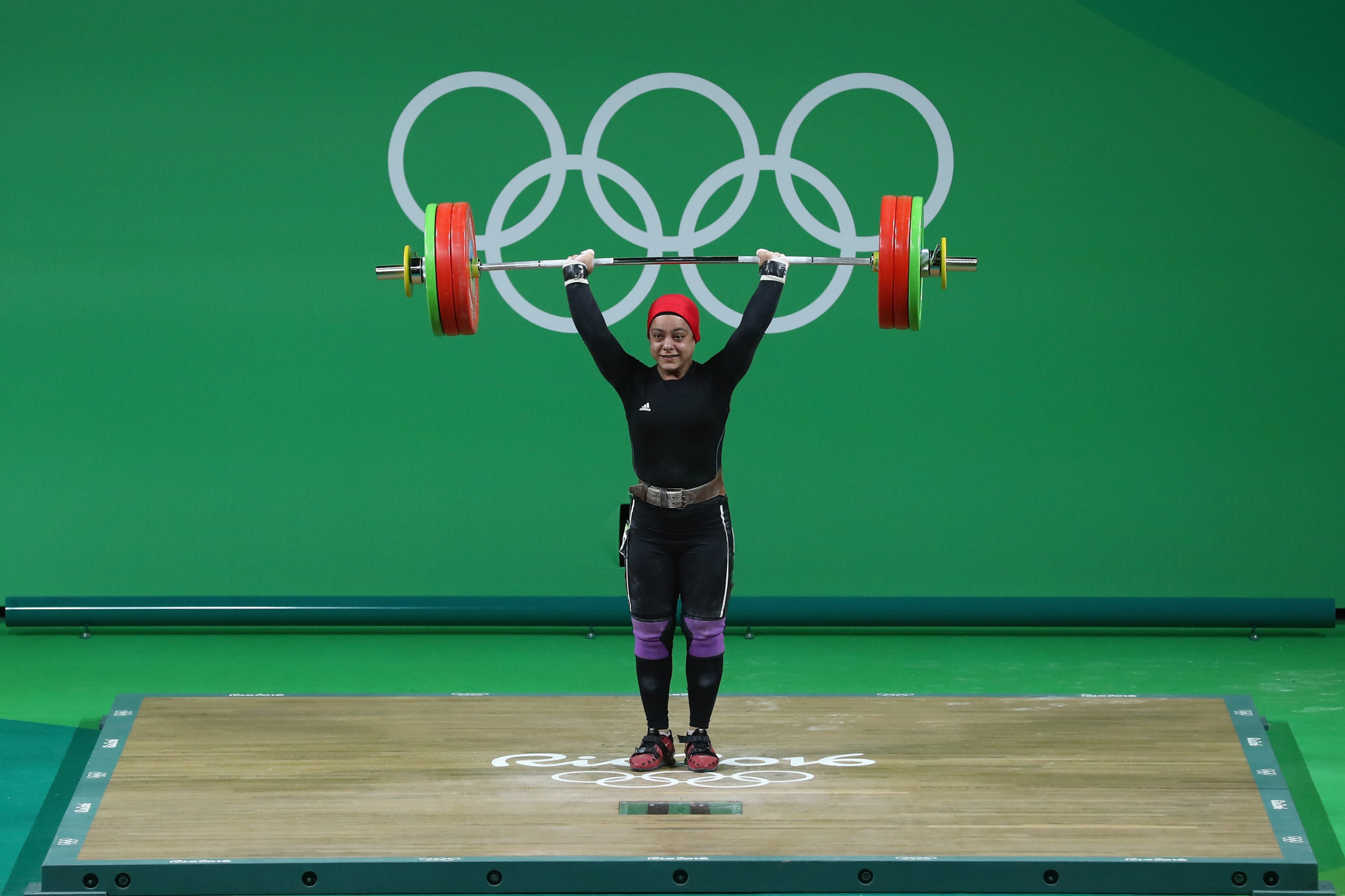 Sara Ahmed is among the Egyptian weightlifters who have tested positive ©Getty Images