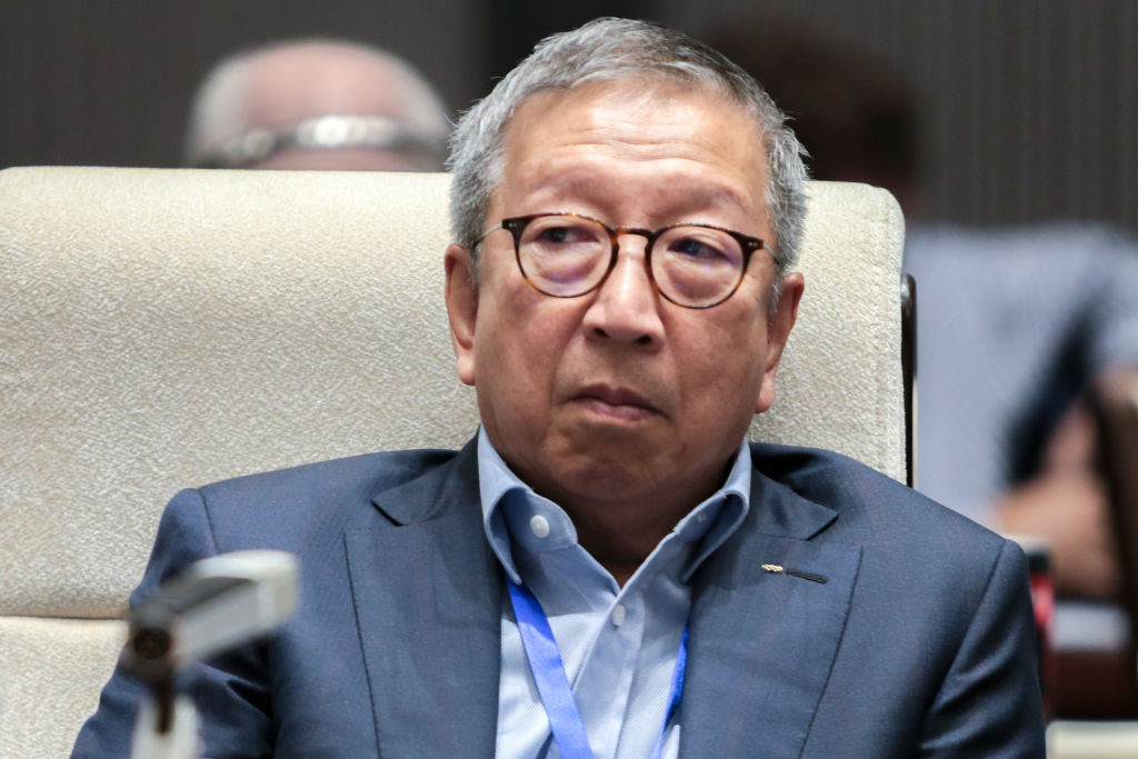 IOC vice-president Ng Ser Miang is the subject of an ethics complaint from World Sailing President Kim Andersen ©Getty Images