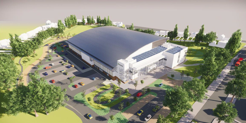 Birmingham 2022 organisers have remained confident the construction of the Aquatics Centre in Sandwell will be completed on time, despite the impact of the COVID-19 pandemic affecting plans for the Athletes' Village ©Sandwell Council
