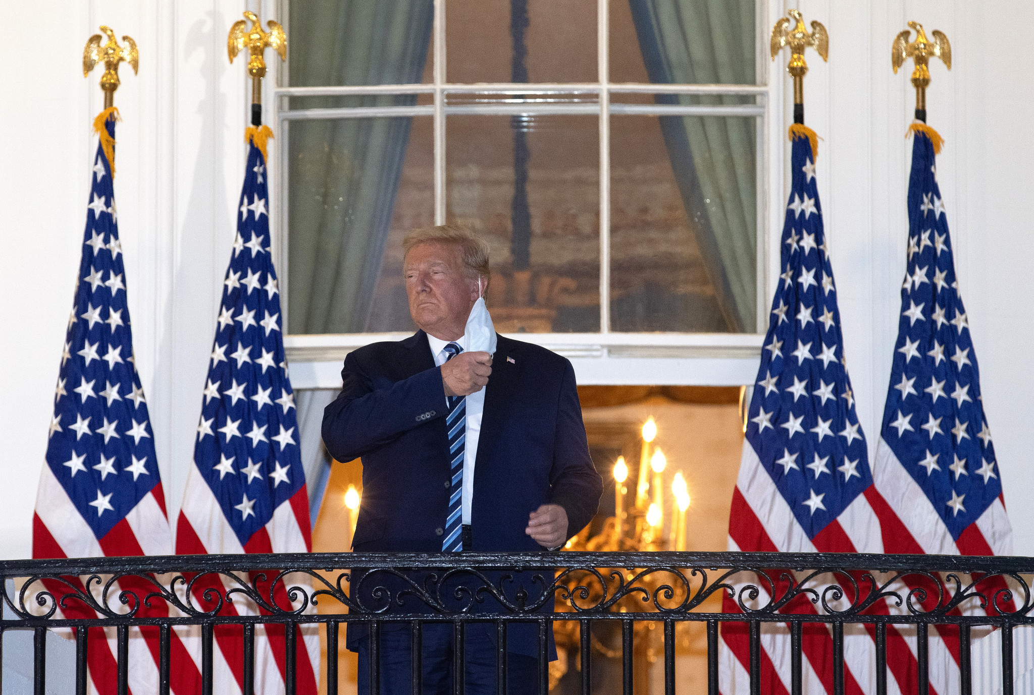 United States President Donald Trump was released from the Walter Reed Military Medical Center yesterday after being treated with coronavirus ©Getty Images