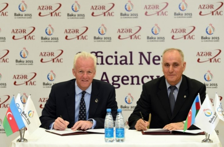 Baku 2015 reveal Azertac as official news agency of first-ever European Games