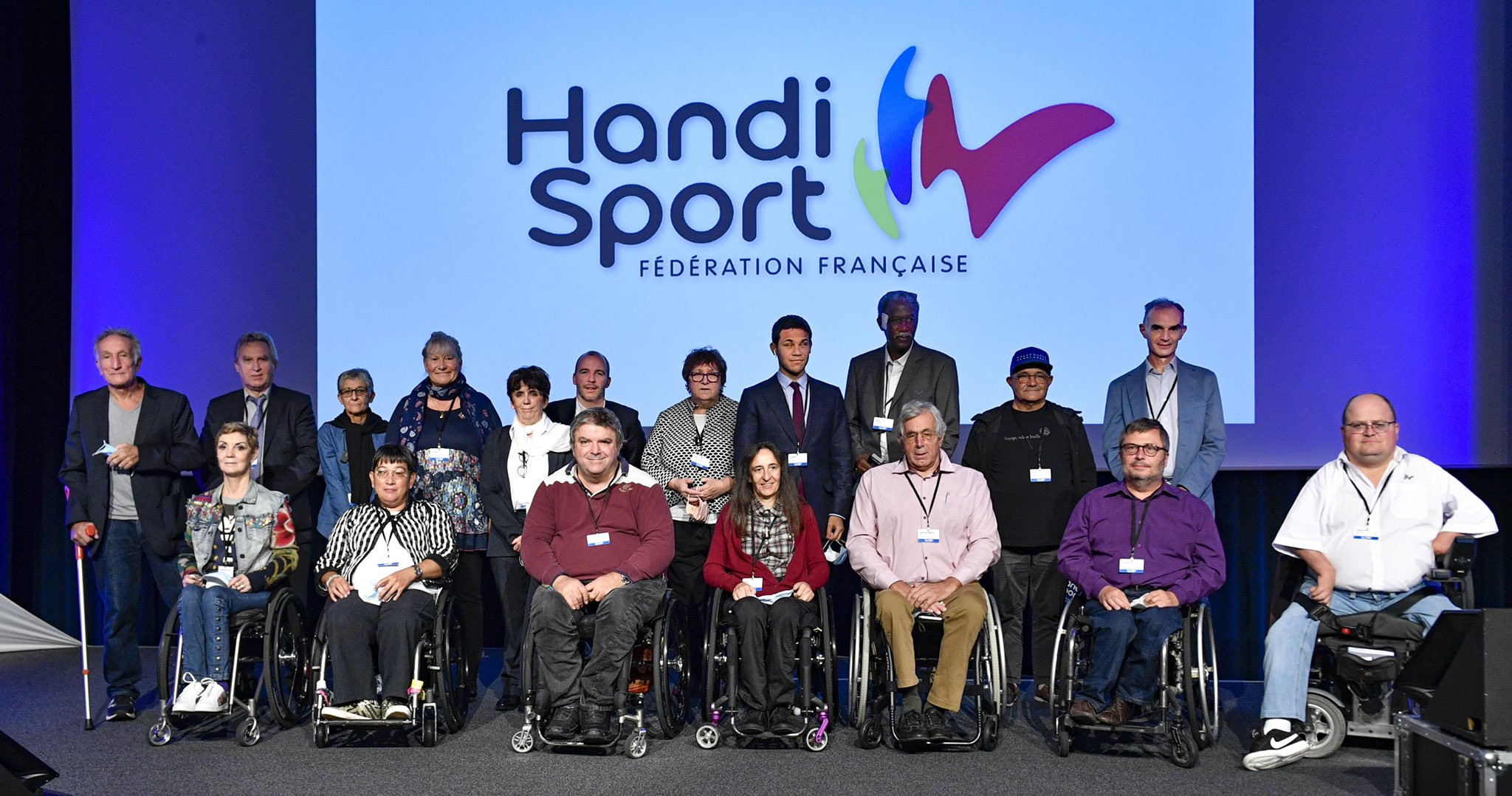 Paralympic medallist Westelynck re-elected French Handisport Federation President through to Paris 2024
