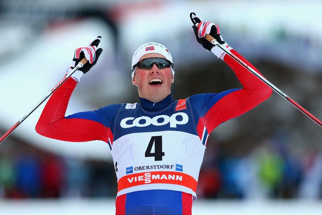 Emil Iversen earned an impressive victory in the men's sprint