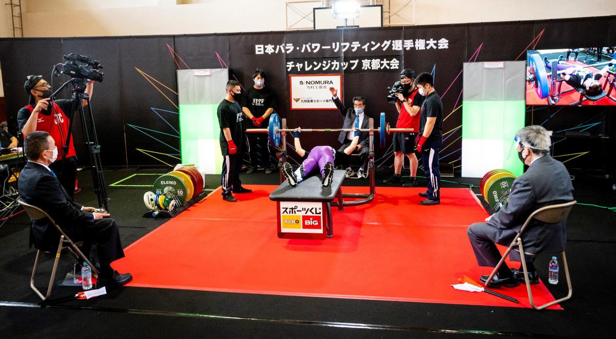 World Para Powerlifting sanctions event for first time since sport's shutdown