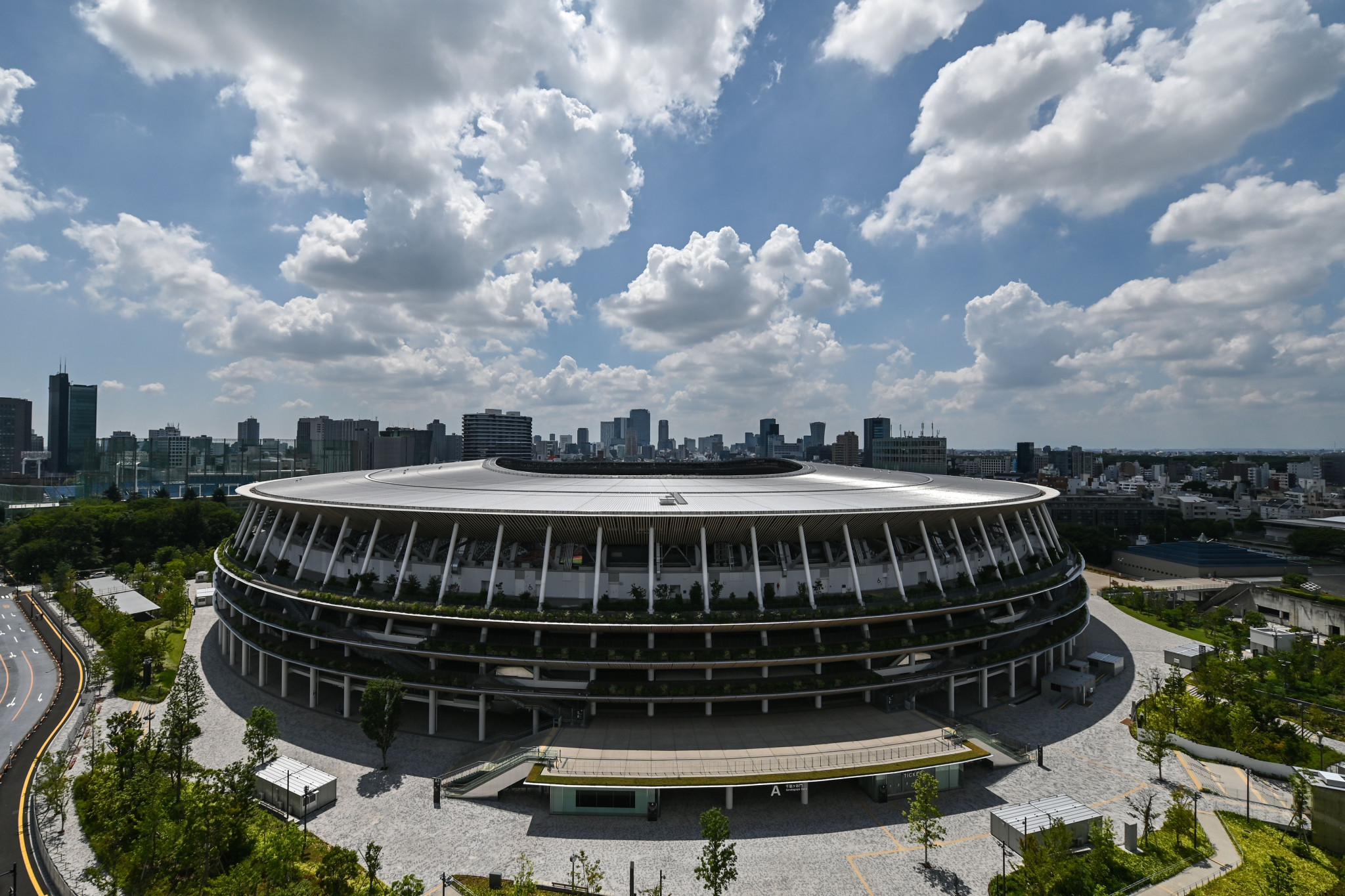 The National Stadium in Tokyo is set to host the Opening and Closing Ceremonies of next year's Olympic and Paralympic Games ©Getty Images