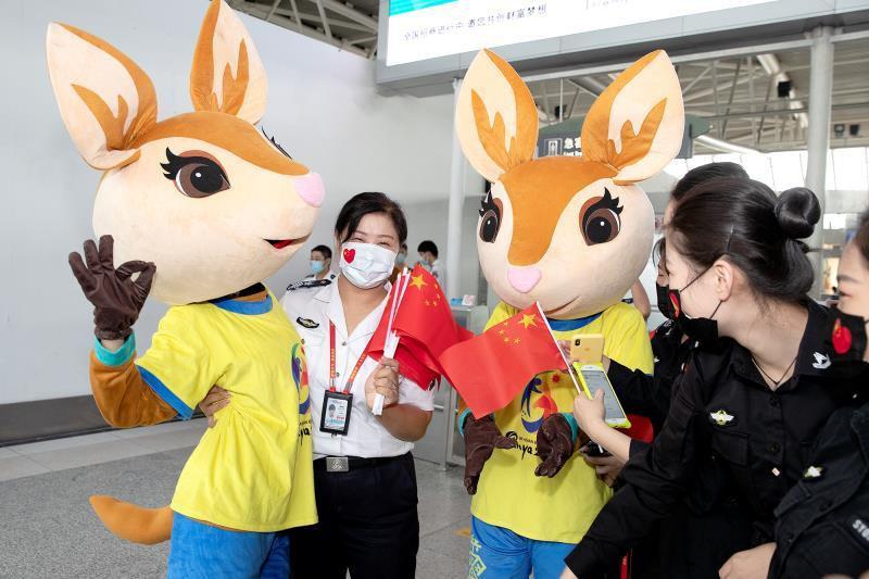 Sanya 2020 promotes Asian Beach Games at city's airport