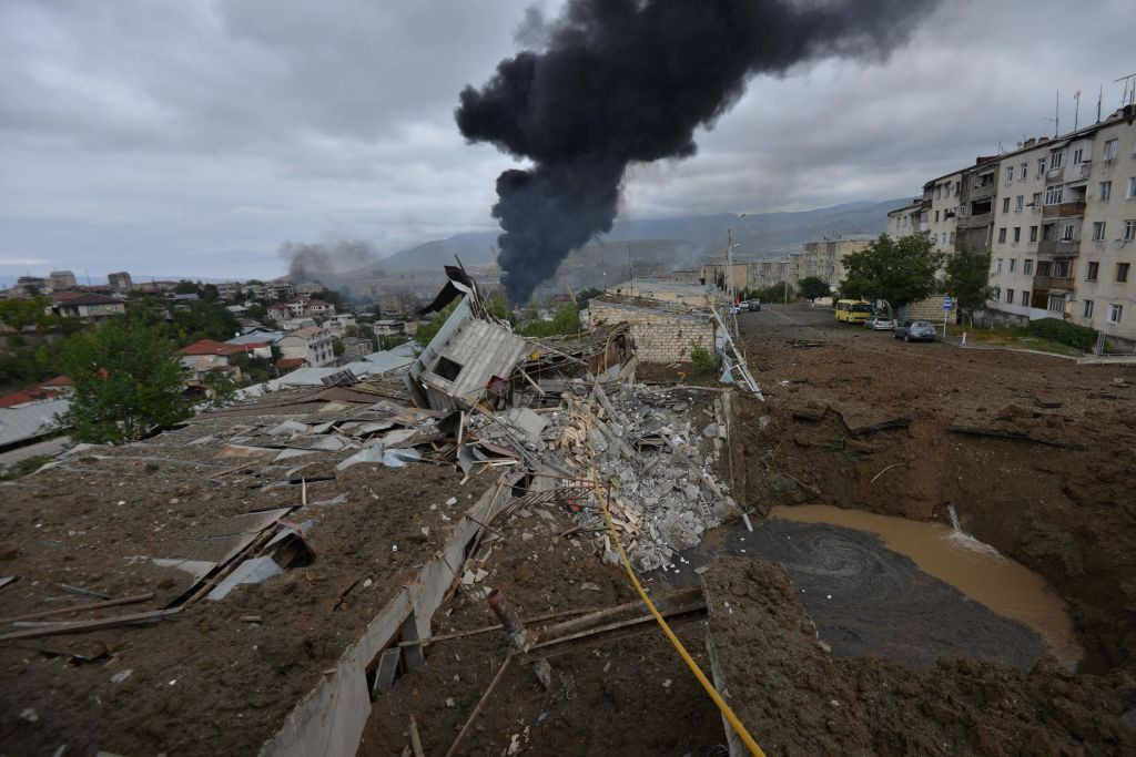 Fighting between Azerbaijan and Armenia in Nagorno-Karabakh has escalated in recent weeks ©Getty Images