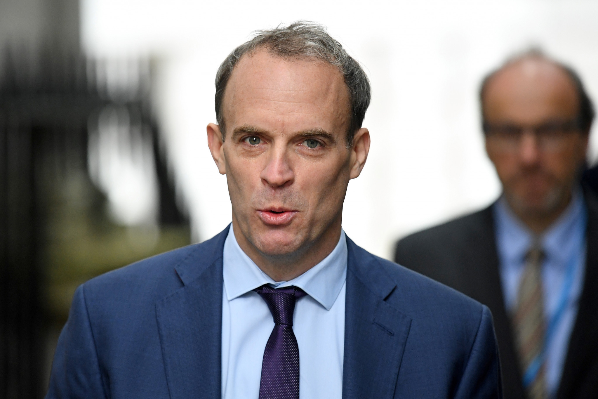 UK Foreign Secretary Dominic Raab has suggested a boycott of Beijing 2022 could be possible for politicians and dignitaries ©Getty Images