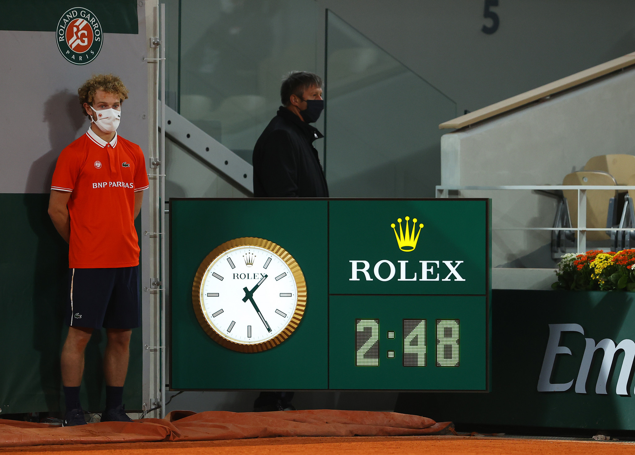 The match finished later than any other in French Open history ©Getty Images
