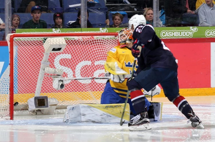 The United States beat Sweden 8-3 to claim the bronze medal