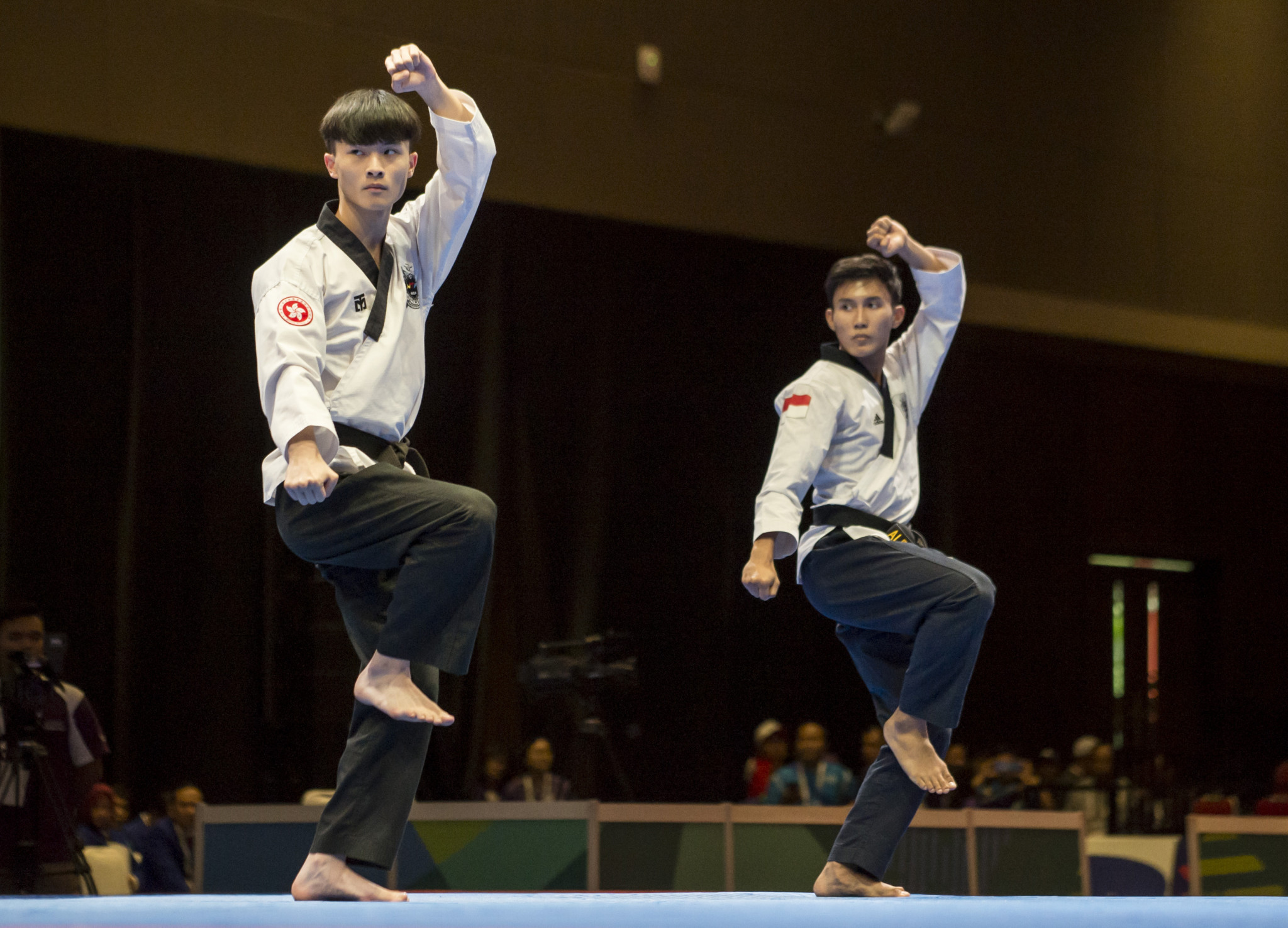 The app aims to allow people to practice poomsae from their own homes ©Getty Images