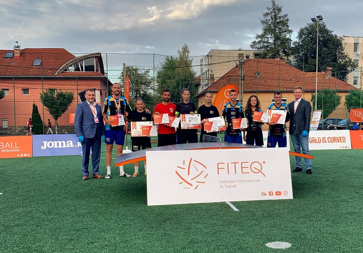 Teqball National Challenger Series events held in Romania and Serbia