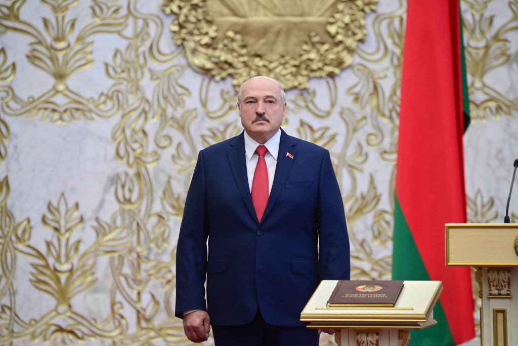 The Belarus NOC, led by President Alexander Lukashenko, has been accused of discriminating against athletes ©Getty Images