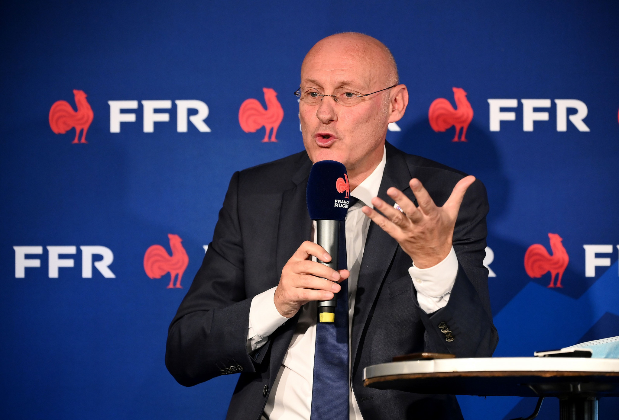Bernard Laporte was re-elected as French Rugby Federation President last week ©Getty Images