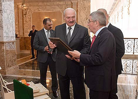 Alexander Lukashenko is President of Belarus and the country's NOC ©Belarus Government