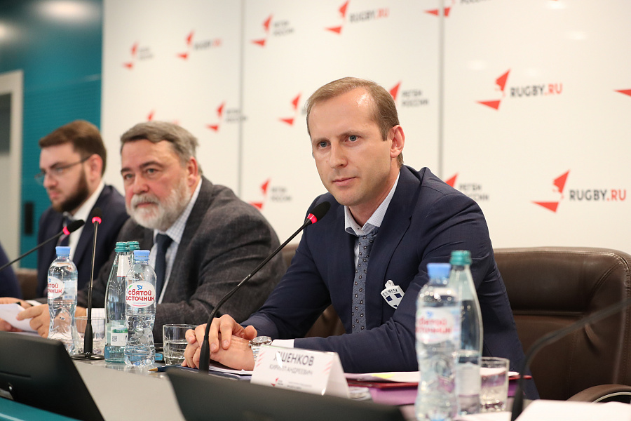 Kirill Yashenkov is seeking to become Rugby Europe President ©Russian Rugby Federation