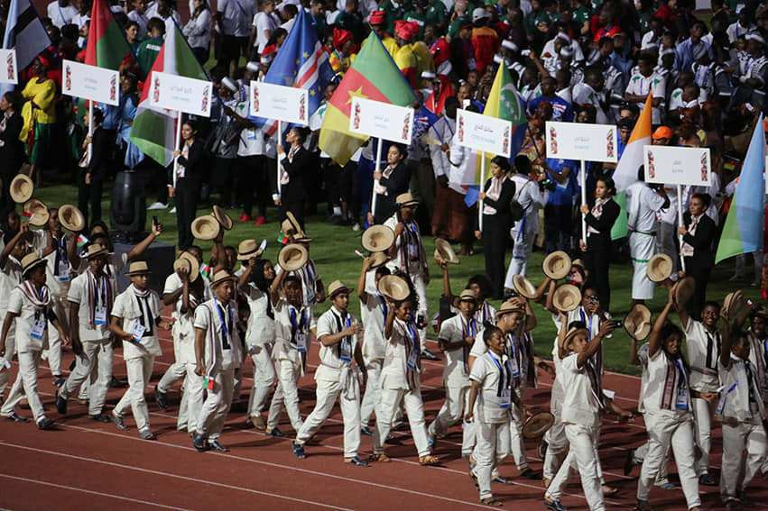 Nearly 5,000 athletes from 53 countries took place in the last African Games in Rabat last year ©Rabat 2019