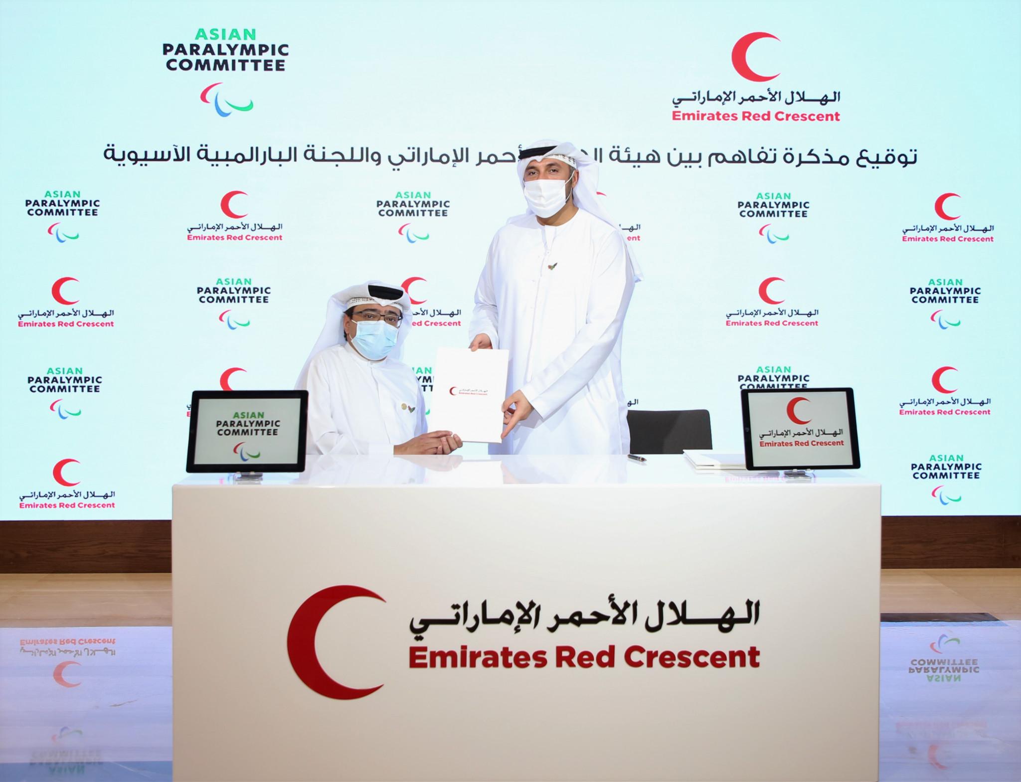 APC and Emirates Red Crescent sign Memorandum of Understanding