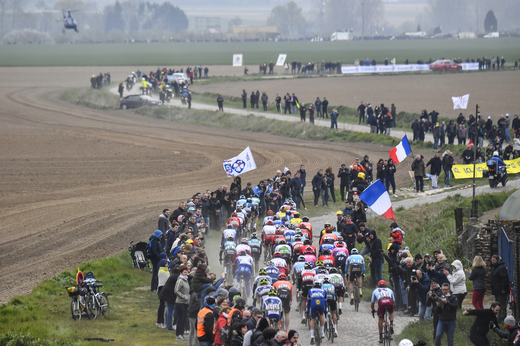 Paris-Roubaix ill not take place for the first time since 1942 after being cancelled because of the coronavirus pandemic ©Getty Images
