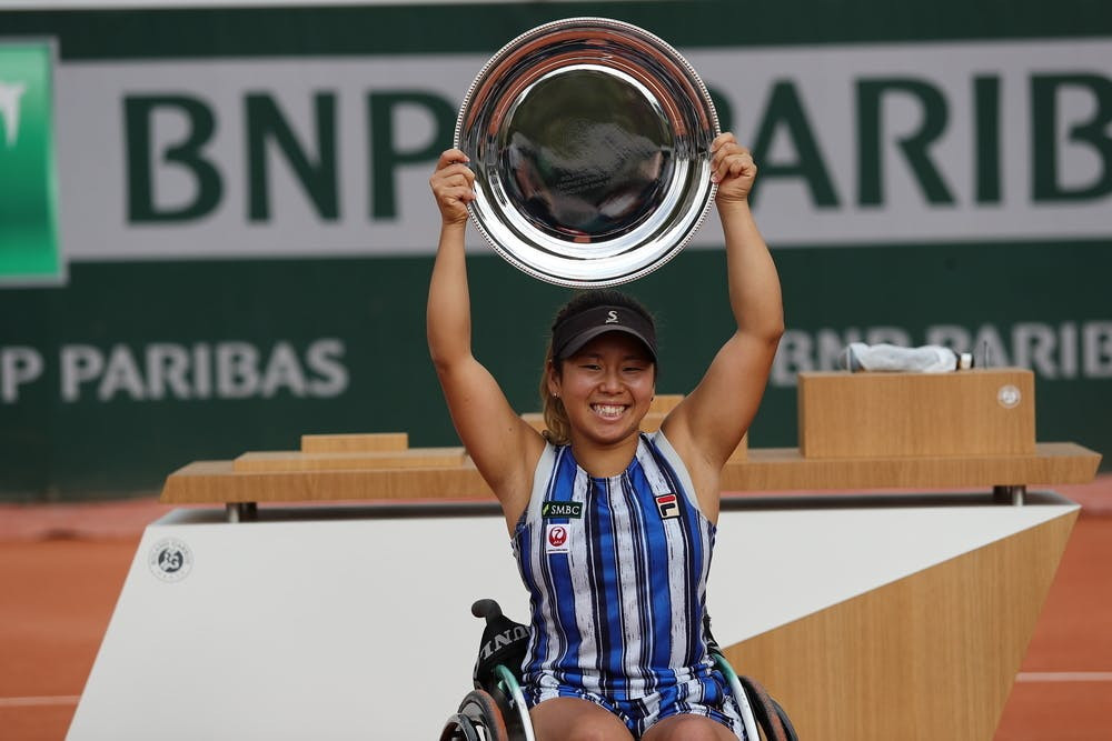 Kamiji wins fourth French Open women's wheelchair singles title